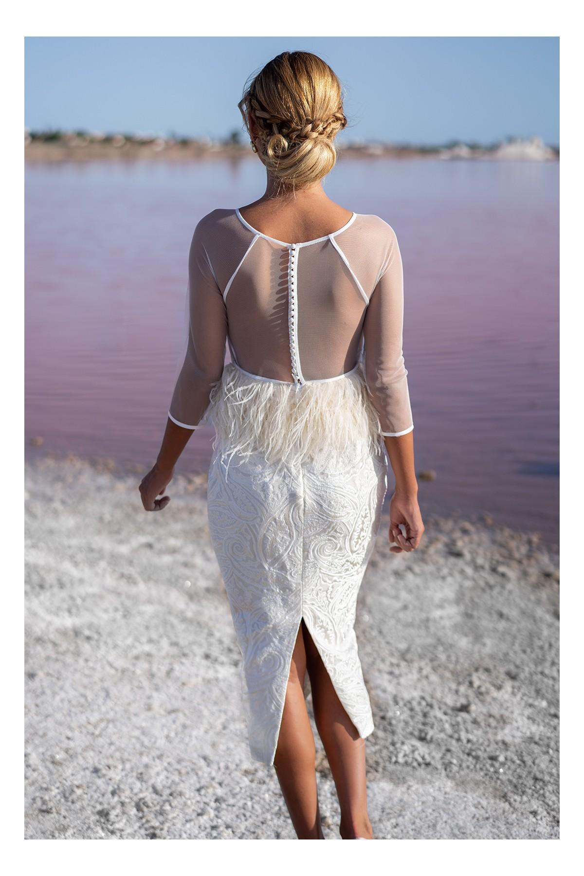 vestido de novia civil amazonia