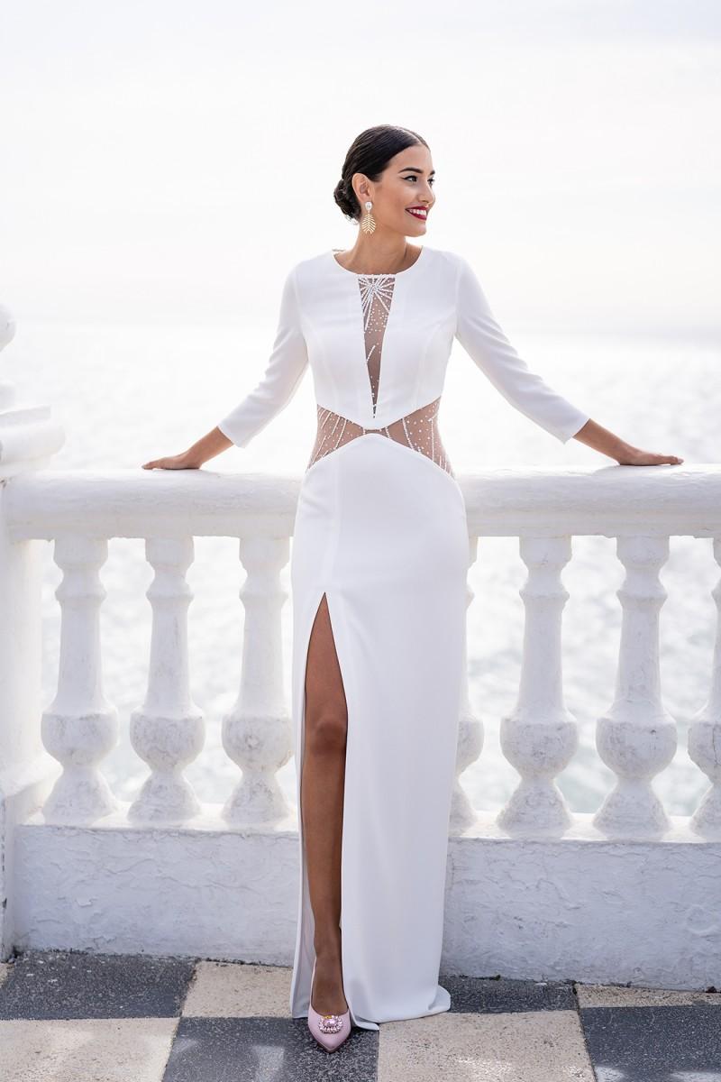 vestido de fiesta de invierno verona