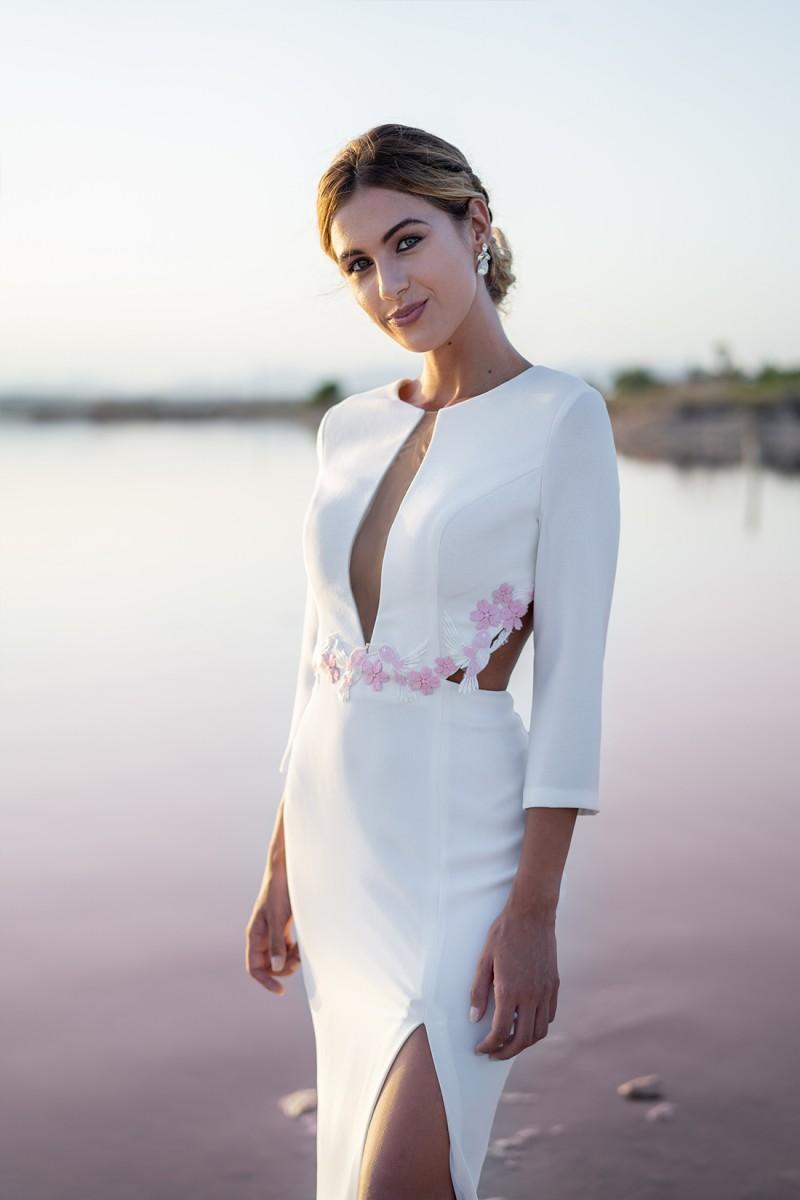 vestido de novia civil meryl