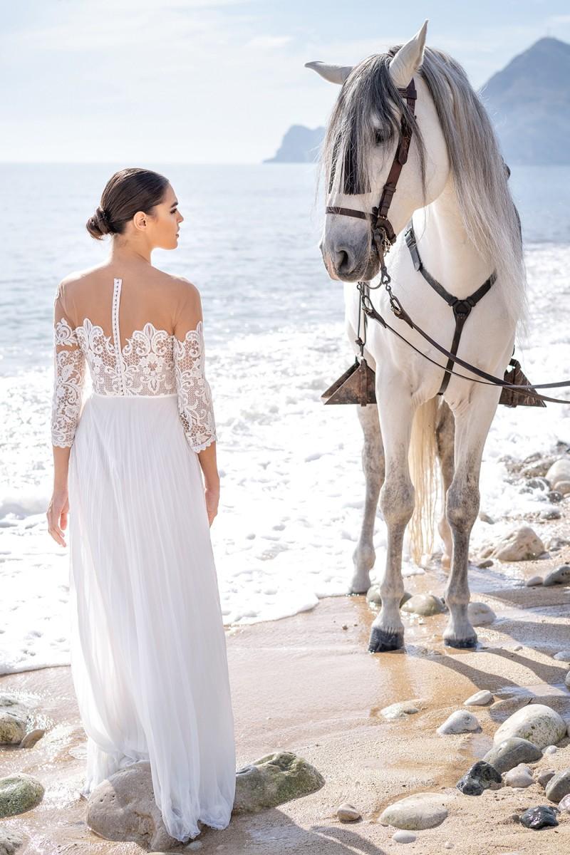 vestido de novia civil laila
