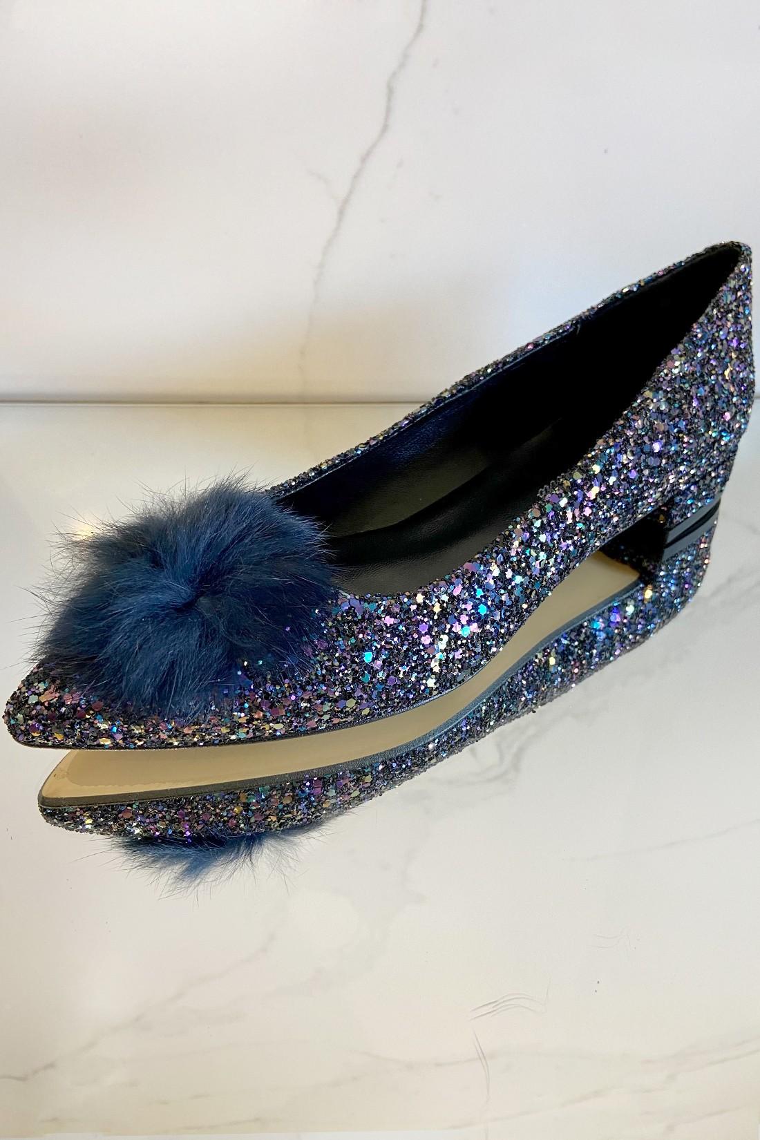 Bailarina Glitter Blue