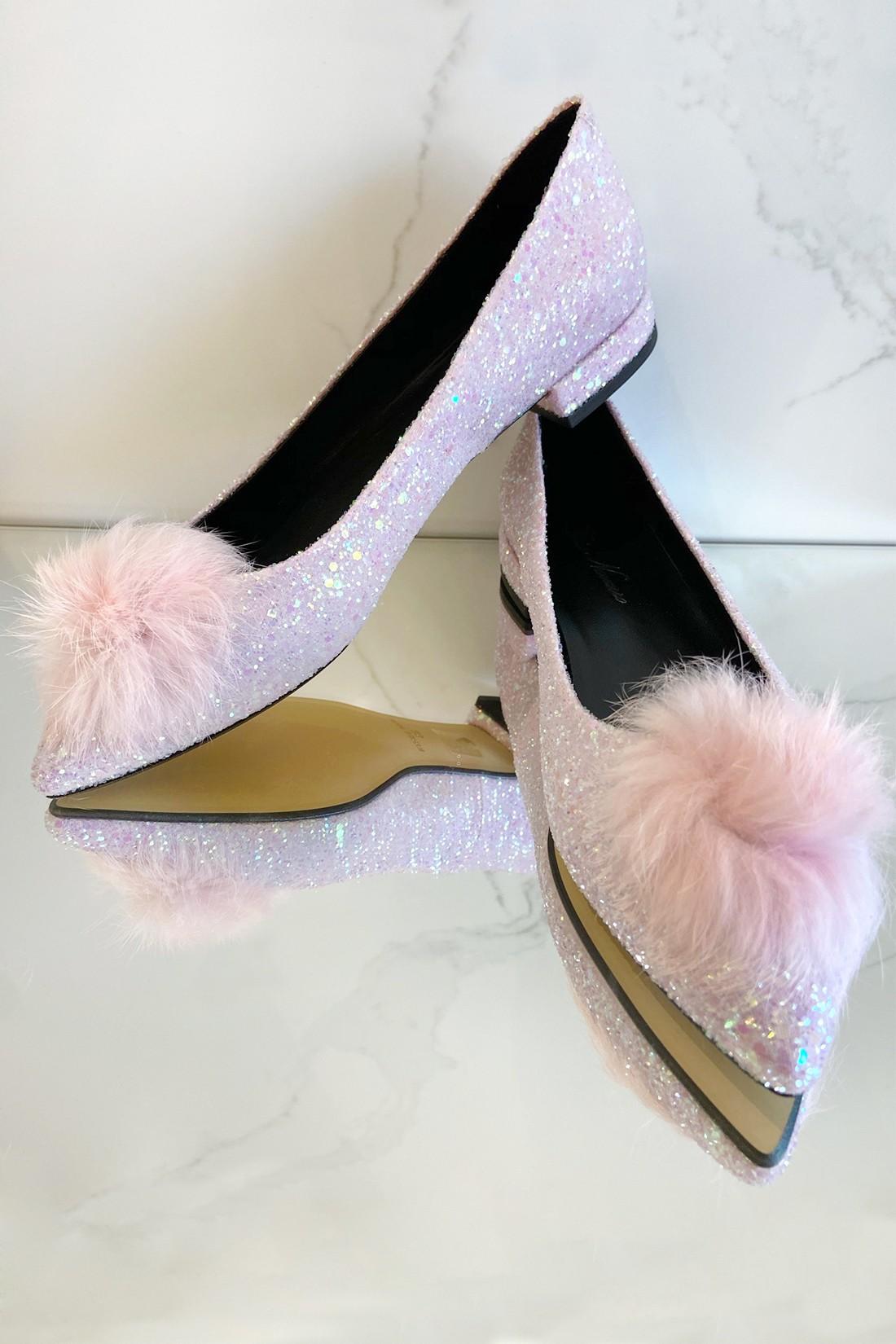 Bailarina Glitter pink