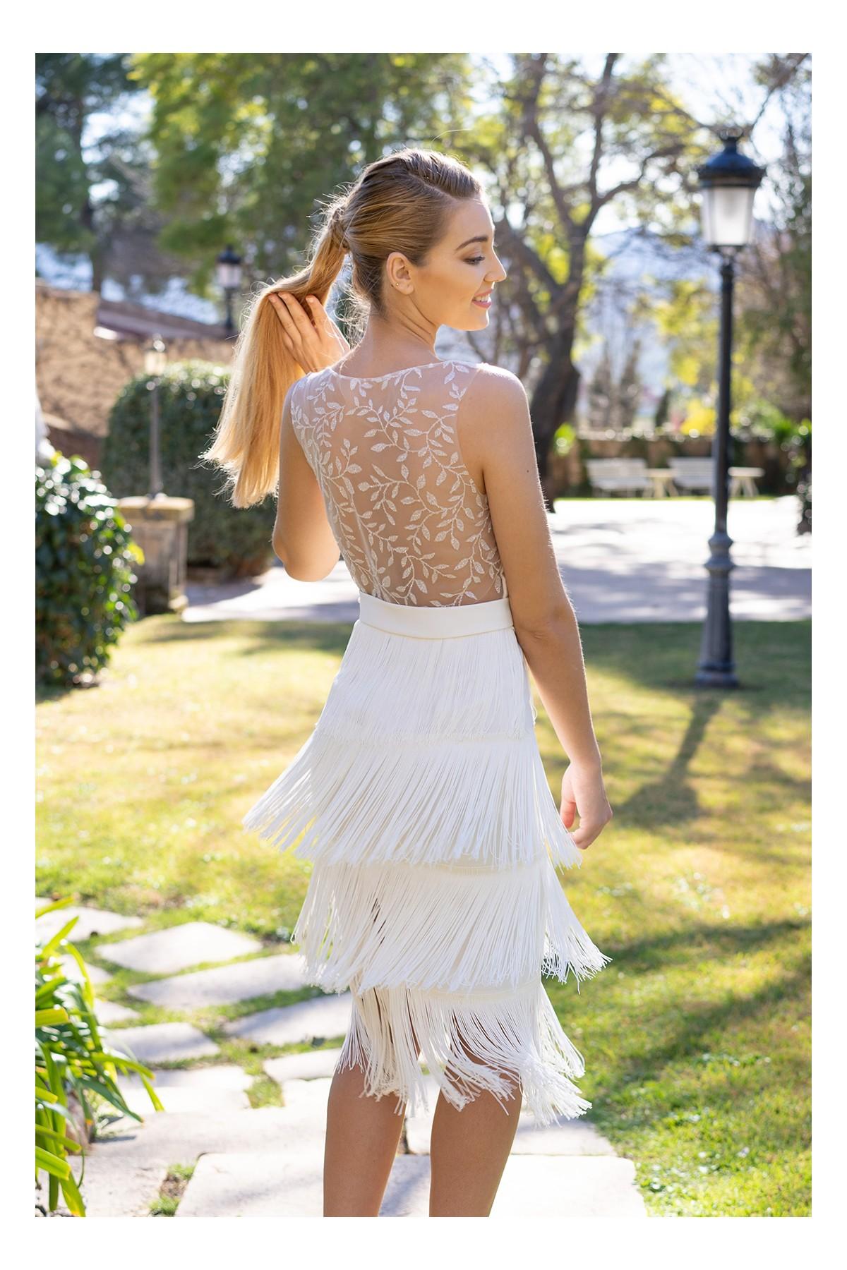 vestido de novia civil sandie
