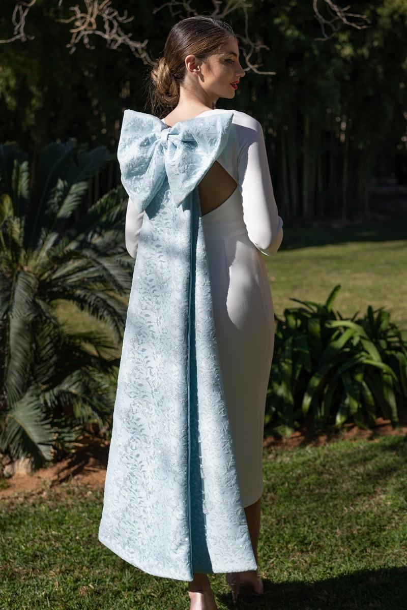 vestido de novia de juzgado paola