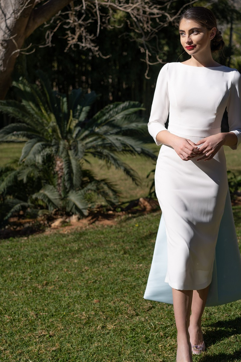 vestido de novia civil paola