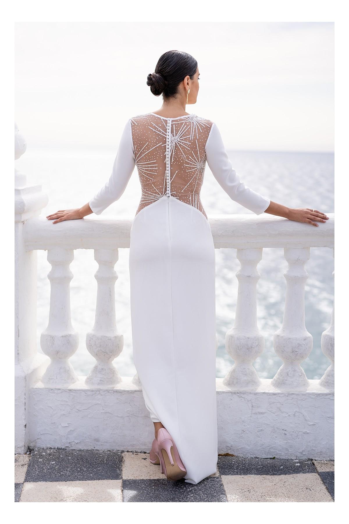 vestido de novia civil verona